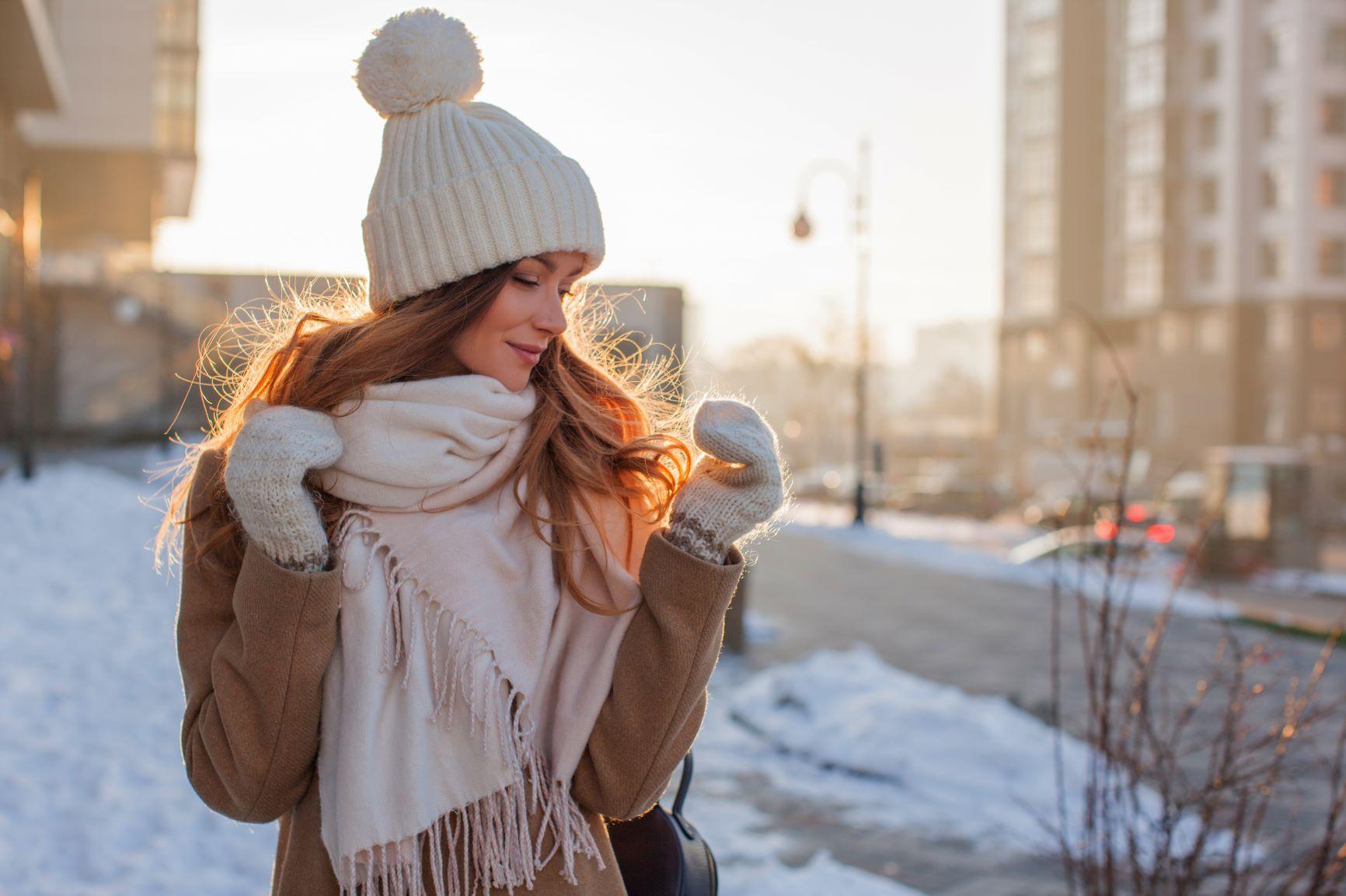 Chraňte svou pleť před mrazem!