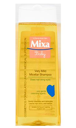 Velmi jemný micelární šampon