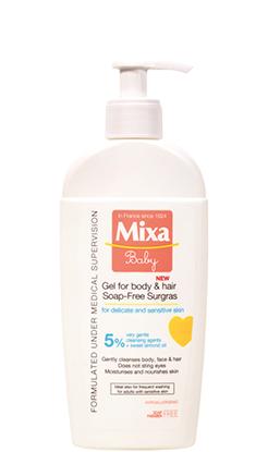 Extra vyživující mycí gel na tělo a vlásky